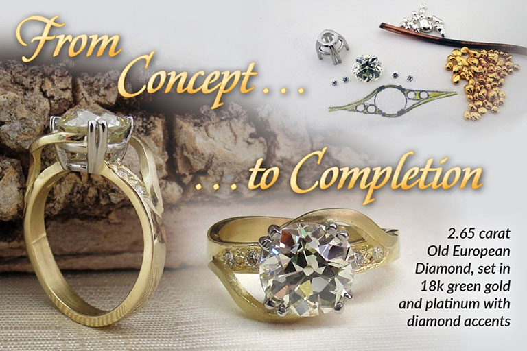 Striking Gold Jewelers Maine Jewelry Store Custom Made Jewelry